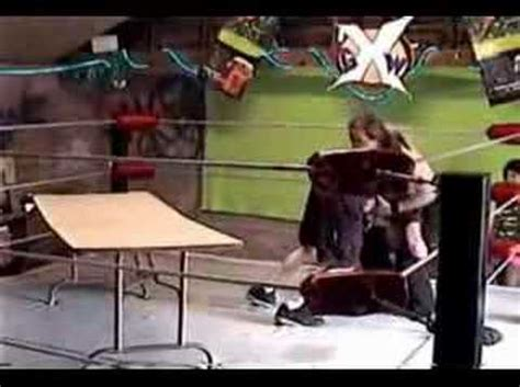 backyard wrestling documentary backyard wrestling powerbomb through a table youtube