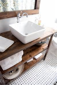 bathroom vanity shelves five ways to update a bathroom centsational