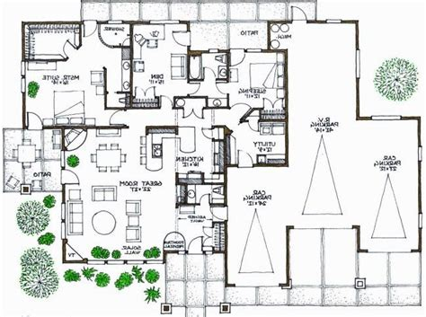 Modern Home Floorplans | contemporary house plan alp 07x8 chatham design group