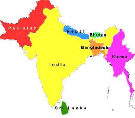 south asian countries map viewpoint is india preparing ground for exchange of