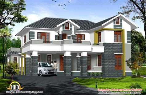 simple two story house