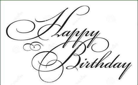 write happy birthday in design how to write happy birthday in cursivewritings and papers