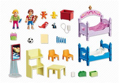 playmobil chambre enfant playmobil 5306 chambre des enfants avec lits d 233 cor 233 s
