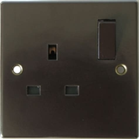 brown electrical sockets deco electric fittings bakelite switches sockets