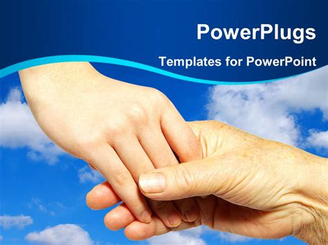 powerpoint templates free download hands powerpoint template youth holding hand and helping some