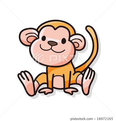how to draw a doodle monkey animal monkey doodle doodles