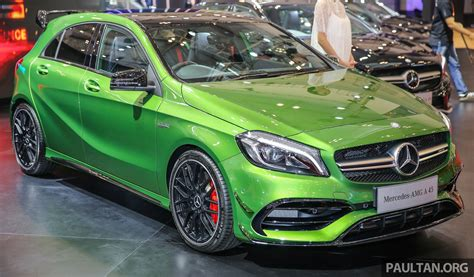green mercedes giias 2016 mercedes amg a45 in elbaite green image 535289