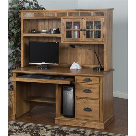 sedona desk hutch