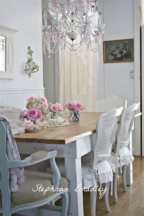 shabby chic dining room shabby chic dining decorating ideas pinterest