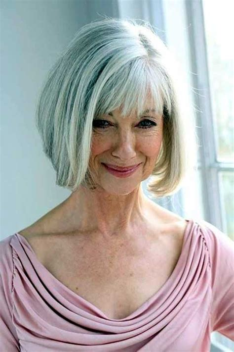 grey bob for old women short bob wigs for white women nice bob haircuts for older ladies bob hairstyles 2015