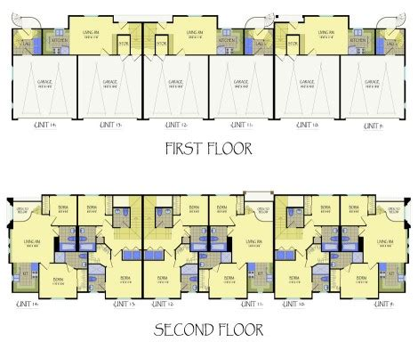 multi family apartment floor plans multi family mediterranean commercial and multi family by kvh design