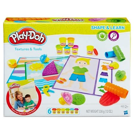 Play Doh Shape Learn Colors And Shapes play doh shape and learn textures and tools target