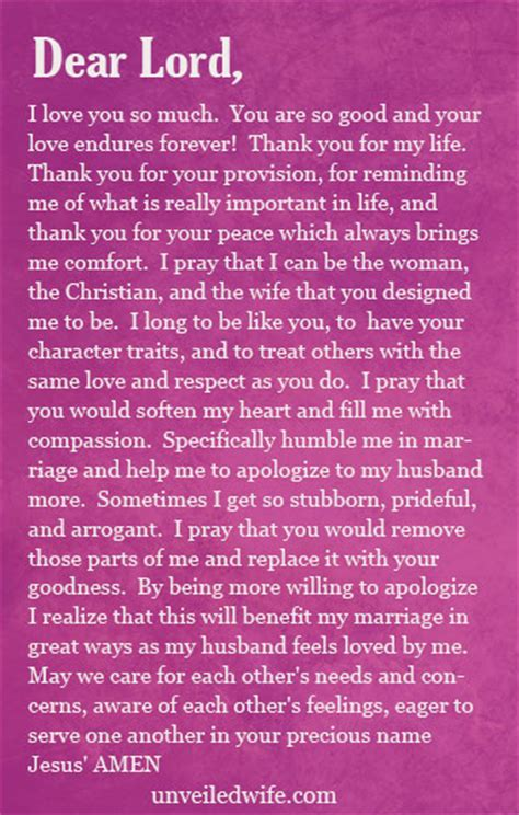 Apology Letter Marriage Prayer Of The Day Apologizing To My Husband