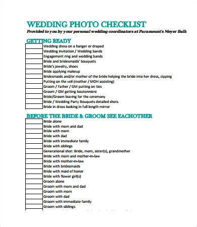 Wedding Checklist Detailed by Detailed Wedding Checklist Business Checklist Templates