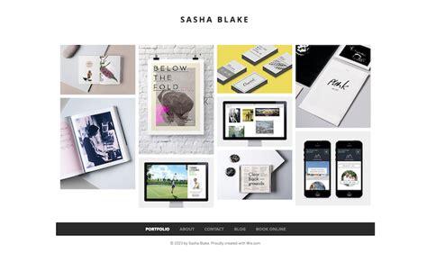design portfolio maker software 57 stunning wix website themes and templates