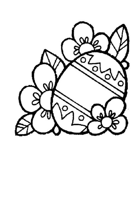 easter egg coloring pages coloring town