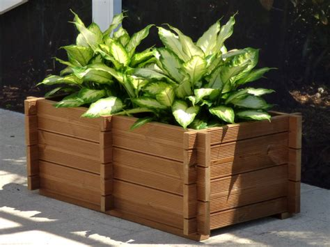 Wooden Planters by Wooden Planter Box Kits By Bzbcabinsandoutdoors Net
