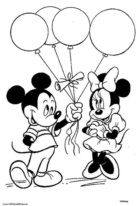 disney minnie mouse coloring pages download and print for free coloriage disney de mickey lune 26 pinteres