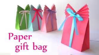 How To Make A Paper Gift Bag Templates by Diy Crafts Paper Gift Bag Easy Innova Crafts