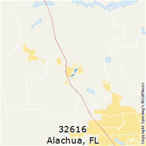 zip code map gainesville fl best places to live in alachua zip 32616 florida