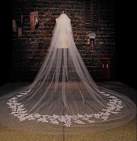 Handmade Veils - veil lace veil in handmade cathedral veil luxury wedding