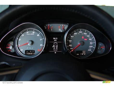 audi r8 gauges 2011 audi r8 spyder 4 2 fsi quattro gauges photo 73405805