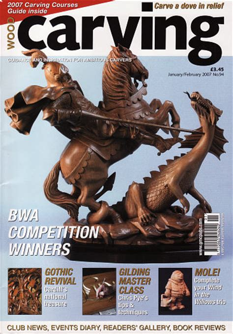 wood carving magazine  woodworking