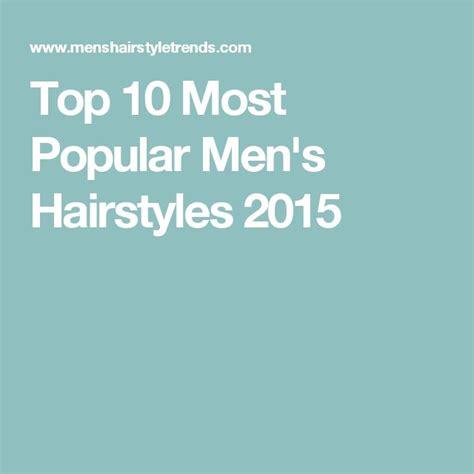 Trendiga Herrfrisyrer 2016 by 25 B 228 Sta Top Mens Hairstyles 2015 Id 233 Erna P 229