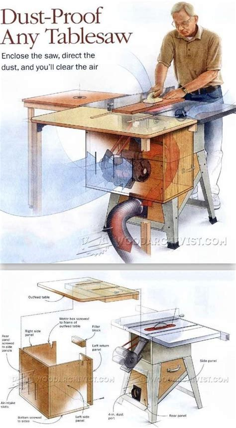 table saw dust collection ideas best 25 table saw dust collection diy ideas on