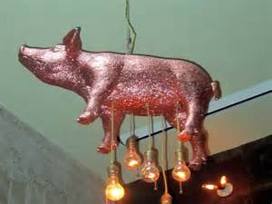 flying pig chandelier fatty cue s glitter pig is my spirit animal how is this