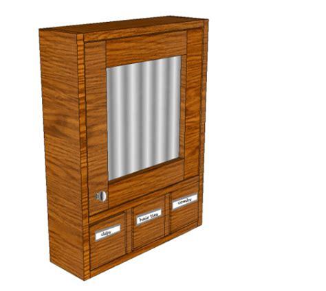 build a medicine cabinet free diy furniture plans to build a 3 drawer medicine