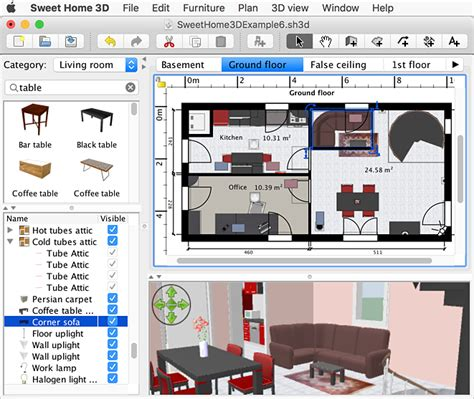 mac apps home design 3d 4 0 7 sweet home 3d for mac free download and software reviews