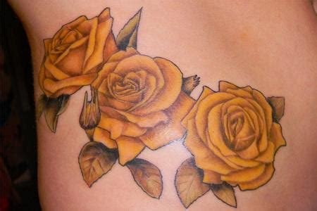yellow rose tattoos meaning 1887tattoos yellow tattoos