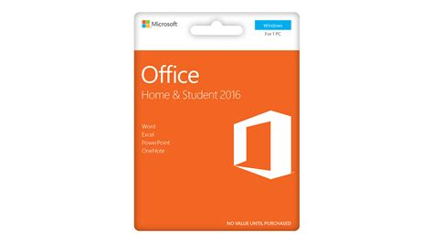 microsoft home office microsoft office home and student 2016 harvey norman new