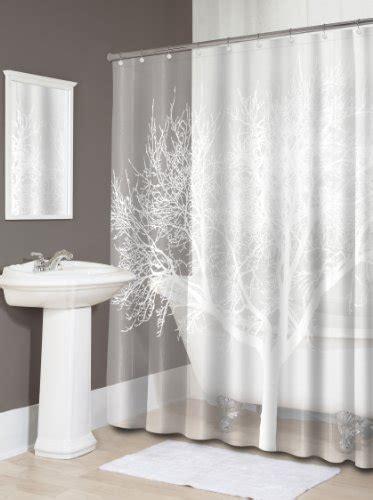 eva shower curtain splash home eva shower curtain 70 by 72 inch tree pearl