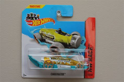 Hotwheels Hw Carbonator wheels 2014 hw race carbonator yellow turquoise bottle opener