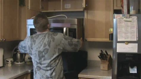 How To Install Cabinet Microwave by Microwave Installation