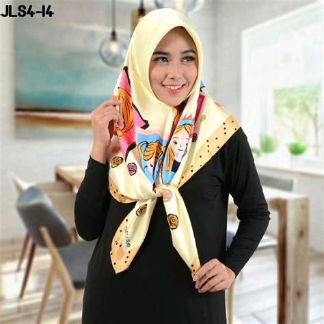 hijab style kartun tutorial hijab terbaru