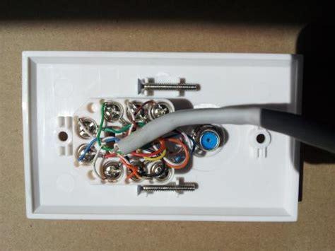 rj45 wall wiring diagram 568b telephone wiring