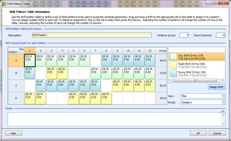 24 7 shift pattern templates employee scheduling exle 24 7 8 hr shifts at least 4