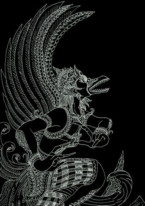 Versi Kencana Batik maha garuda by reidge on deviantart