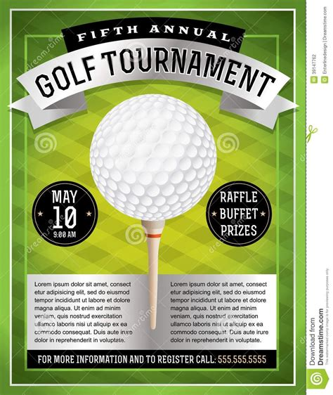 Golf Tournament Flyer Template Beepmunk Golf Tournament Invitation Template Free