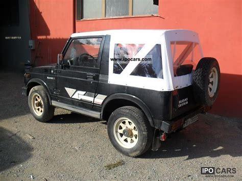 how to work on cars 1989 suzuki sj free book repair manuals 1989 santana suzuki sj 413 santana car photo and specs