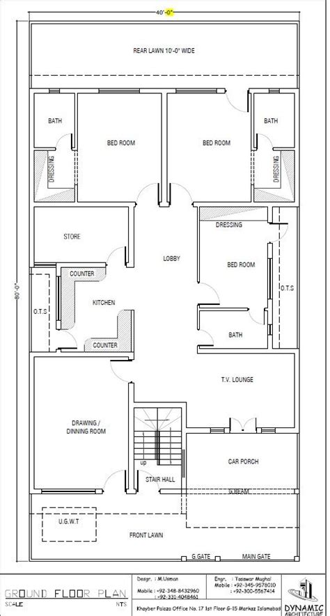 22 cent house grapic design plan house plan drawing 40x80 islamabad design project house plans simple house