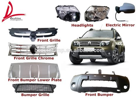 List Grill Radiator Bawah Wagon R Chrome renault duster auto bumpers front bumper rear bumper