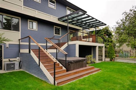 how to build an awning over a deck photo page hgtv
