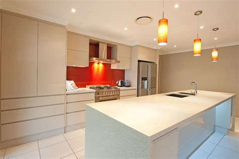 renovation lighting island kitchen brisbane cabinet makers renovations
