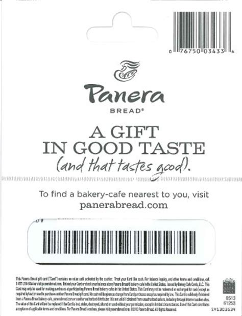 My Panera Gift Card - panera bread gift card 25 import it all