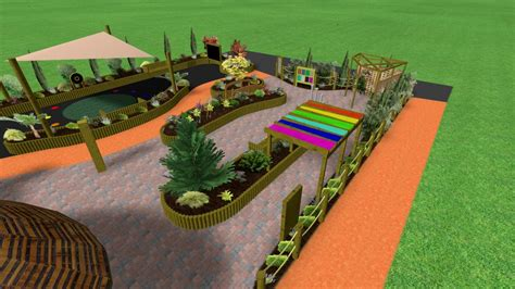 sensory garden design by sensory technology
