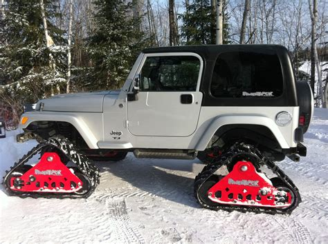 jeep tracks mountain grooming equipment 187 powertrack systems for trucks